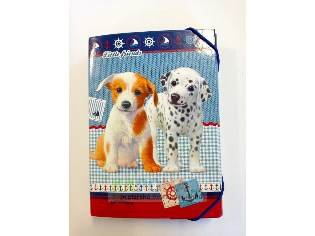 Desky na sešity BOX A5 Little Friends