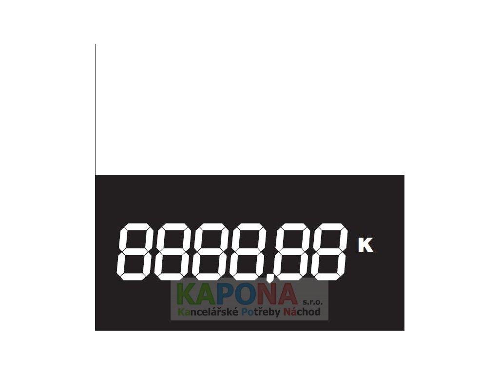 Digitální cenovka velká 90x90mm 50ks, MSK 1162