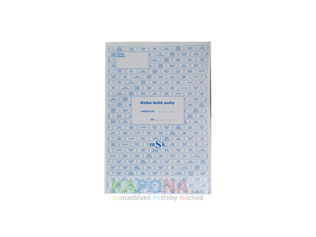 Kniha došlé pošty, MSK 240
