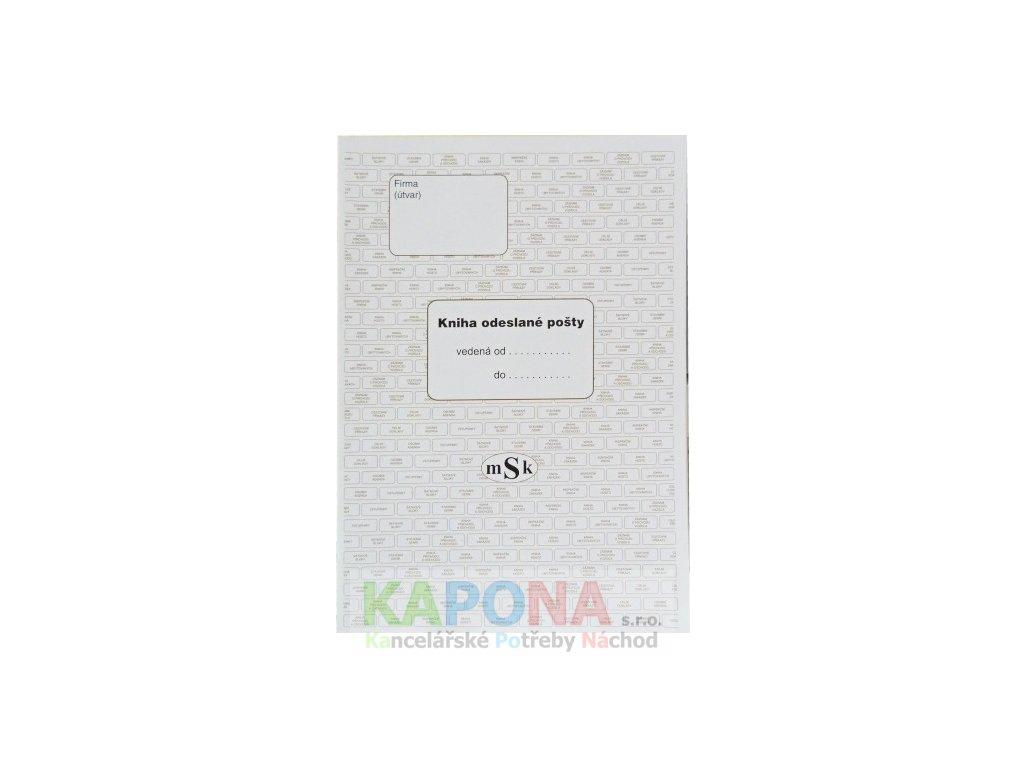Kniha odeslané pošty, MSK 242