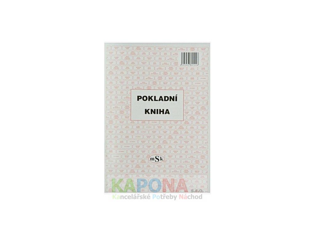 Pokladní kniha A4, MSK 144