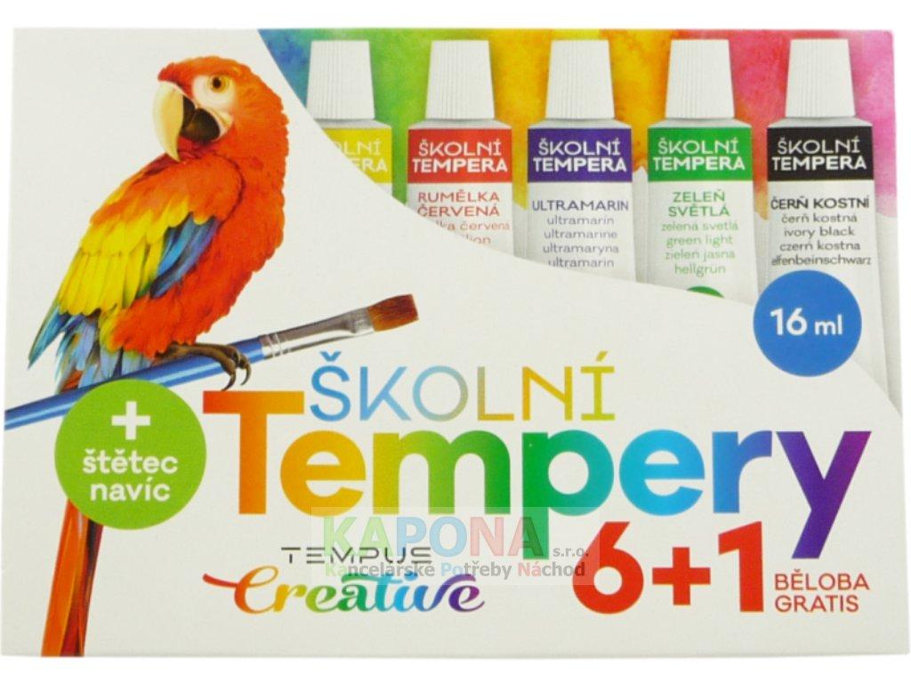 Temperové barvy 16ml 6+1, Tempus
