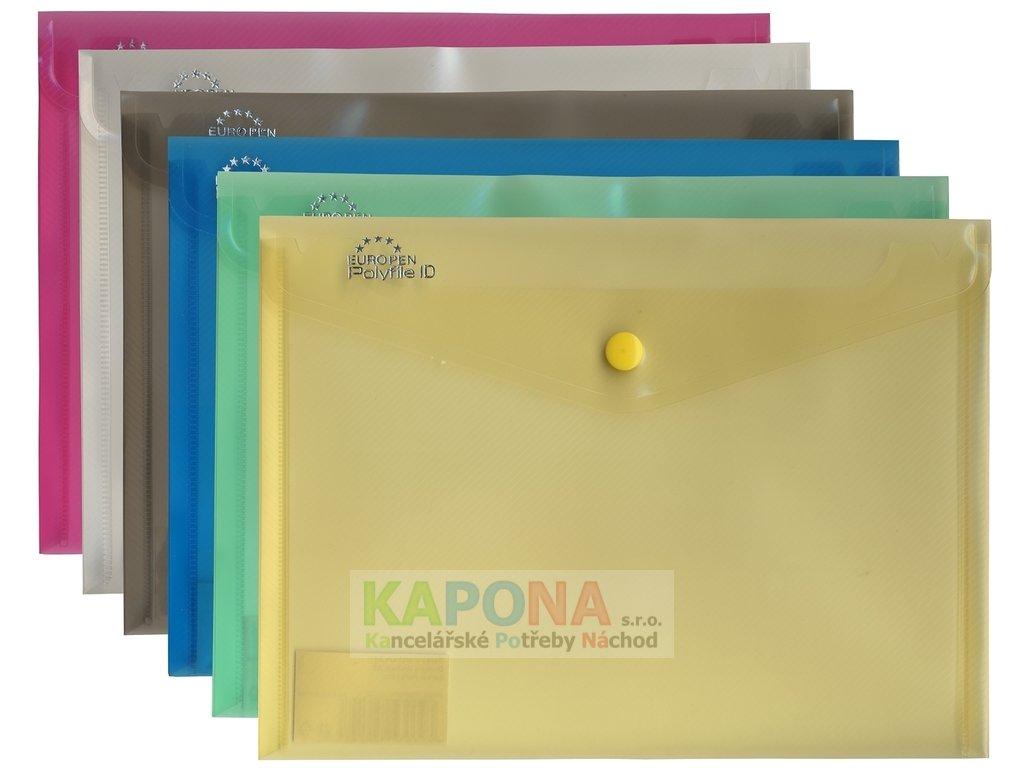 Desky s drukem A5 Europen, různé barvy