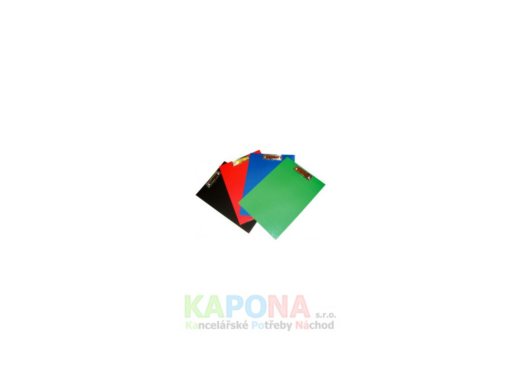 Podložka A4 klip lamino jednodeska (Barva Zelená, Formát A4)