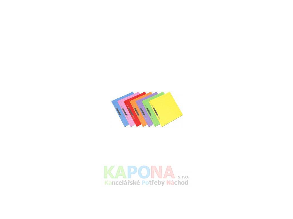Rychlovazač ROC A4 karton, různé barvy (Barva Růžová, Formát A4, V balení 50ks)