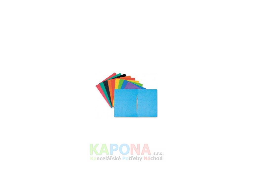 Rychlovazač ROC A4 karton prešpán, různé barvy (Barva Černá, Formát A4, V balení 25ks)