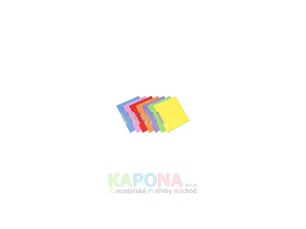 Rychlovazač RZC A4 karton, různé barvy (Barva Růžová, Formát A4, V balení 50ks)