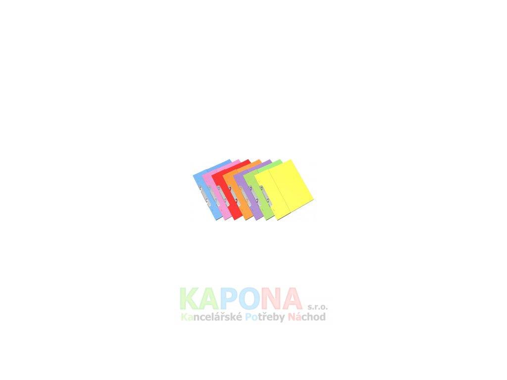 Rychlovazač RZP A4 karton, různé barvy (Barva Růžová, Formát A4, V balení 50ks)
