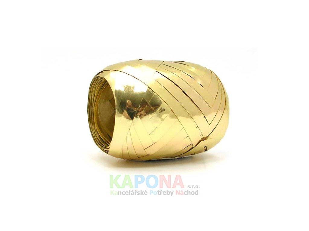 Stuha klubíčko 20m/5mm zlatá