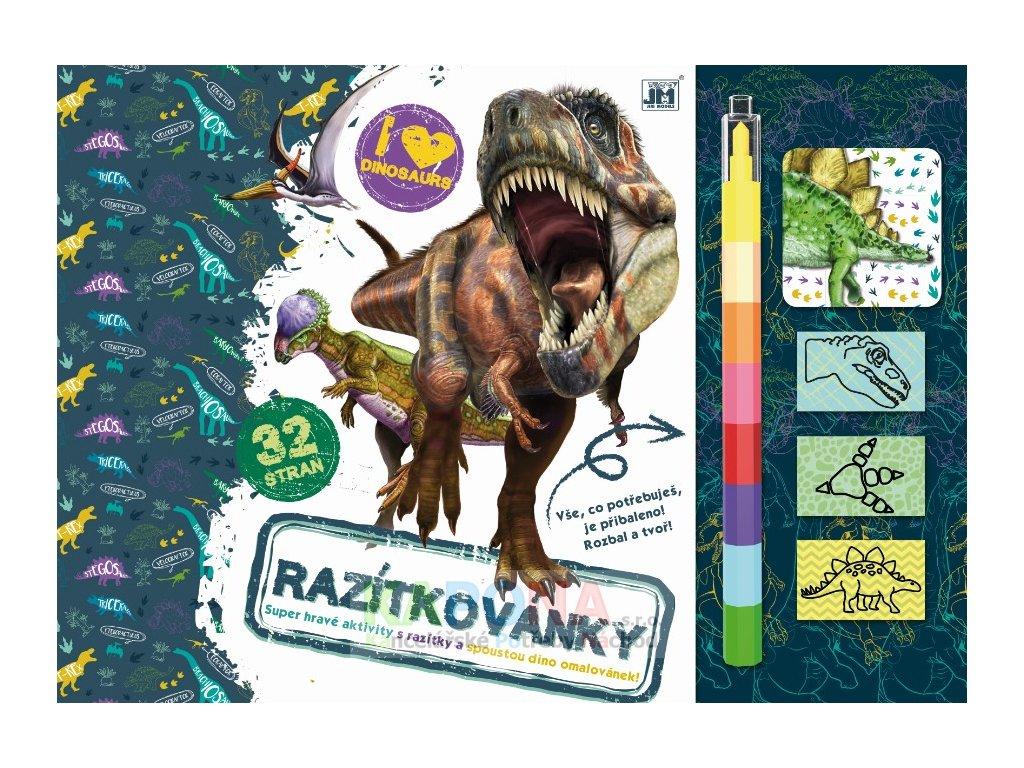 2304 1 dinosauri razitkovanky