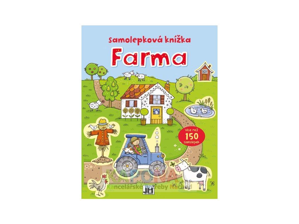 0830 7 farma samolepkova knizka