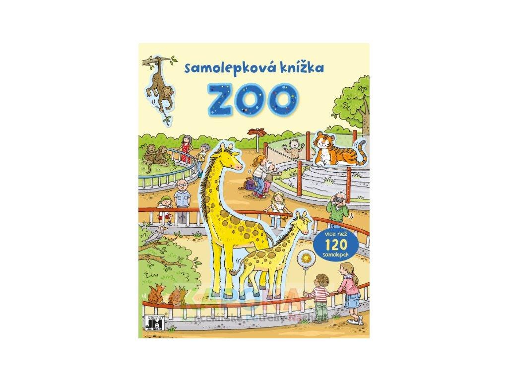 0831 4 zoo samolepkova knizka