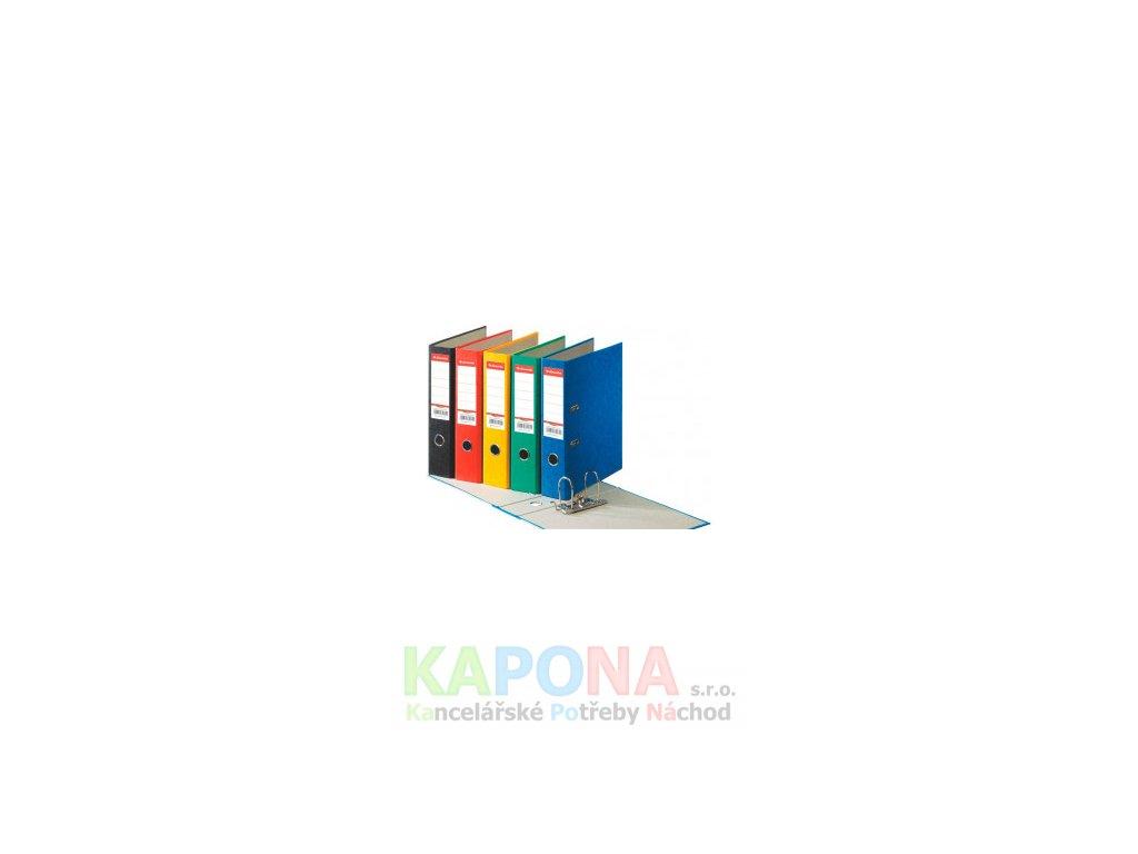 Pořadač pákový prešpán Esselte A4 7,5 cm (Barva Černá, Formát A4, Hřbet 7,5cm)