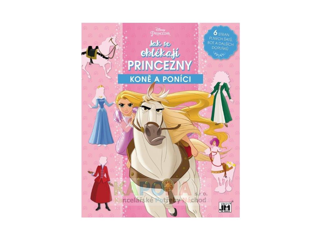 2111 5 disney princezny kone a ponici