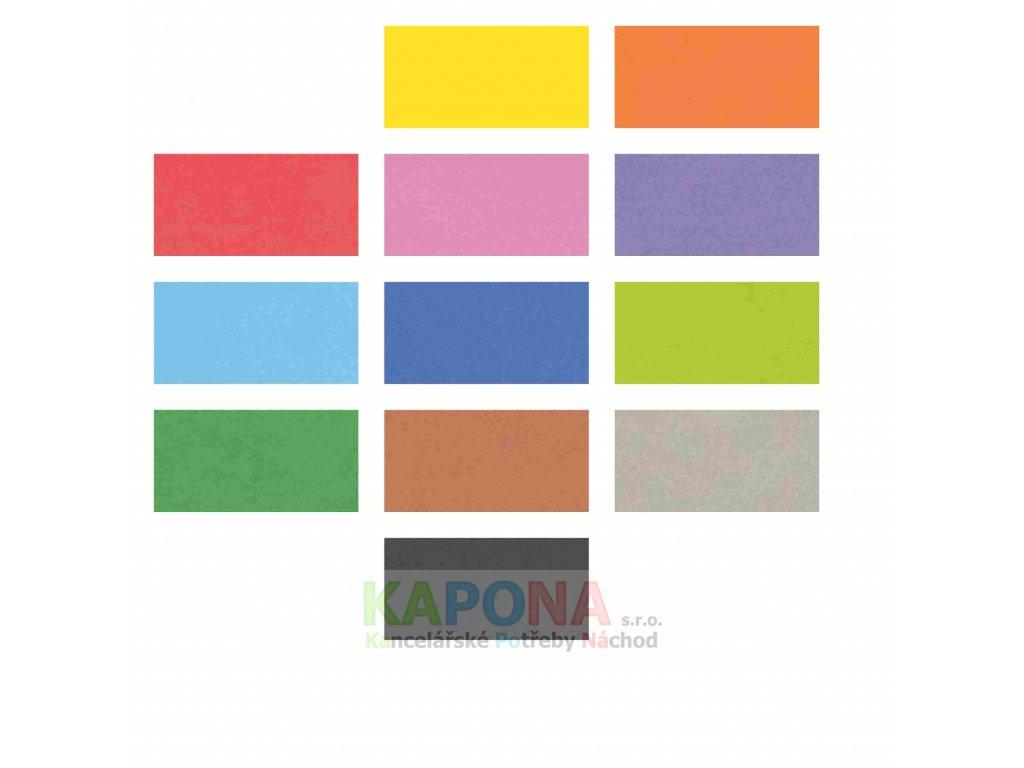 Pěnovka A4 výběr barev