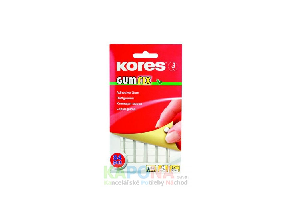 lepici guma kores gumfix 50 g original
