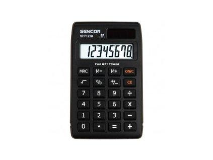Kalkulačka SENCOR kapesní SEC 250
