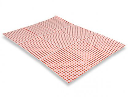 Ubrus na školní lavici 50x65cm (Popis Červené káro)