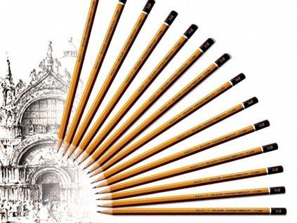Tužka techncká 1500 Koh-I-Noor, různé tvrdosti