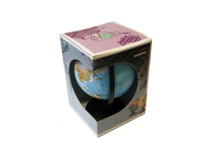 Globus geografický 16cm