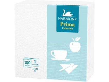Ubrousky Harmony Prima 33x33cm 1vrstvé 100ks
