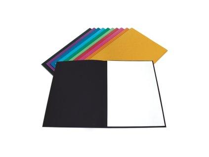 Mapa 250 A4 prešpán mix barev