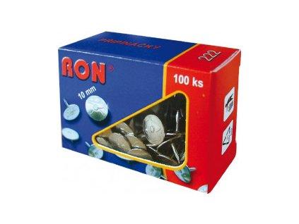 Připínáčky RON (Popis 223 / 11mm /100ks, V balení 8ks)