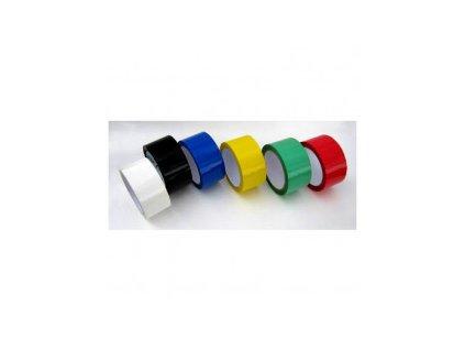 Lepicí páska polypropylenová barevná (Barva Žlutá, Popis 15mm/10m)