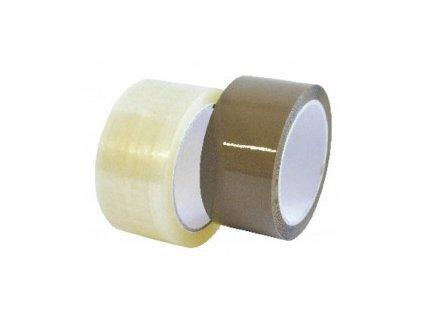 Lepicí páska polypropylenová šíře 48mm (Barva Hnědá, Popis 48mm/66m)