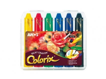 COLORIX 3v1 - pastelka-akvarel-pastel