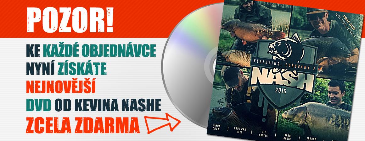 Ke každé objednávce nyní získáte nejnovější DVD od Kevina Nashe ZCELA ZDARMA!