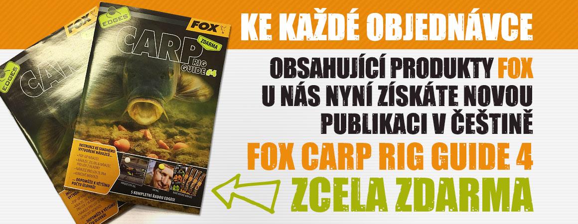 Nová publikace Fox Carp Rig Guide 4 zcela ZDARMA!
