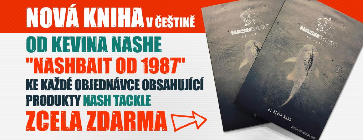 Nová kniha Nashbait od 1987 zcela ZDARMA!
