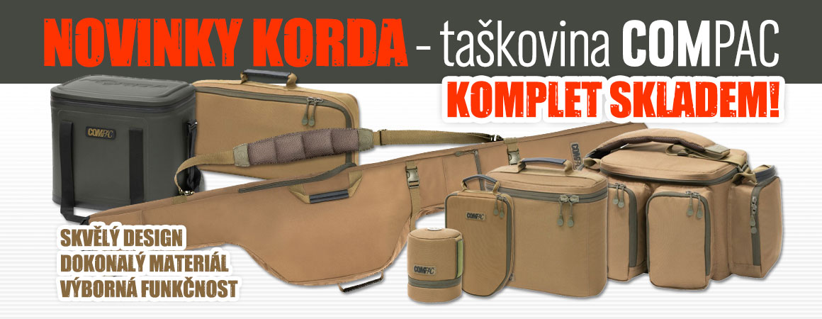 Novinky Korda - taškovina Compac