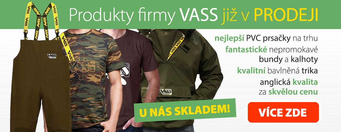 Produkty firmy VASS již v prodeji