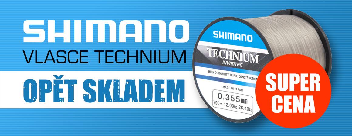 Shimano vlasce Technium - Opět skladem