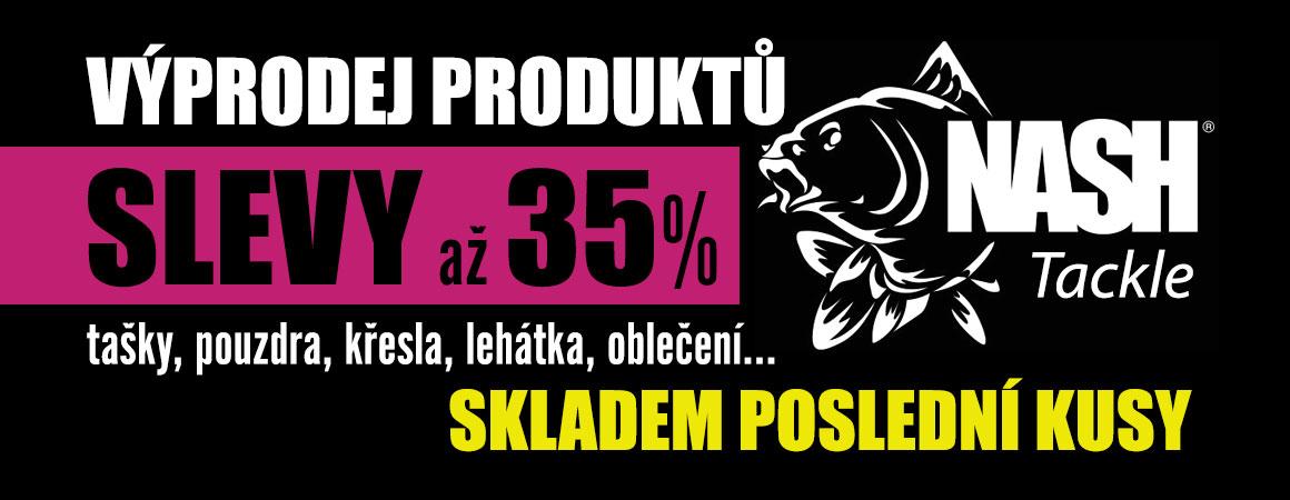 Výprodej produktů Nash Tackle - SLEVY až 35%