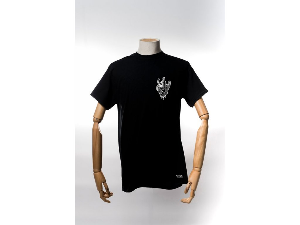 72c7ebc89 Monkey Climber x Wofte tričko Collab Shirt Black - Kaprařina.cz