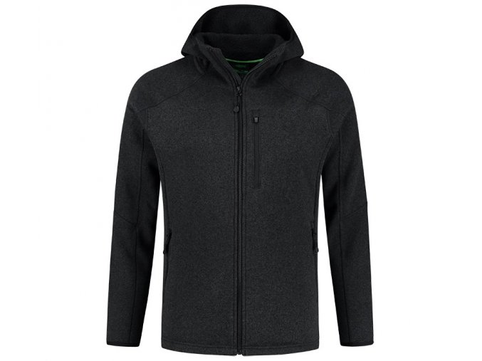 korda mikina kore polar fleece jacket black
