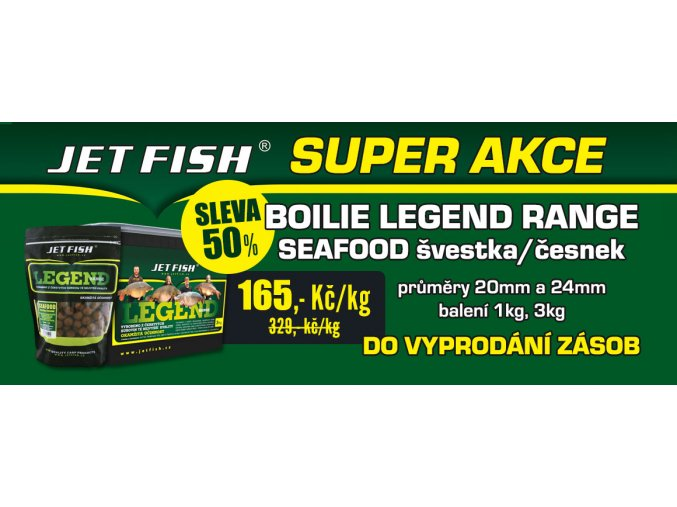 jet fish super akce boilie legend range seafood svestka cesnek