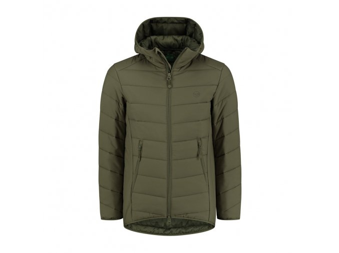 thermolite puffer jacket olive 1