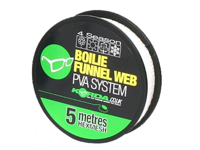 Korda PVA punčocha Boilie Funnel Web Micromesh Reffil