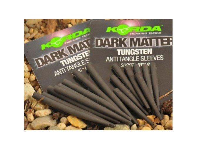 Korda tungstenové převleky proti zamotání Dark Matter Anti Tangle Sleeves