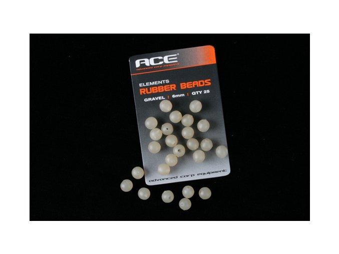 ACE gumové kuličky Rubber Beads 6mm