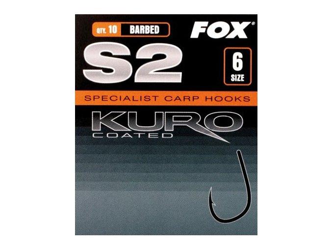 Fox rybářské háčky Kuro S2