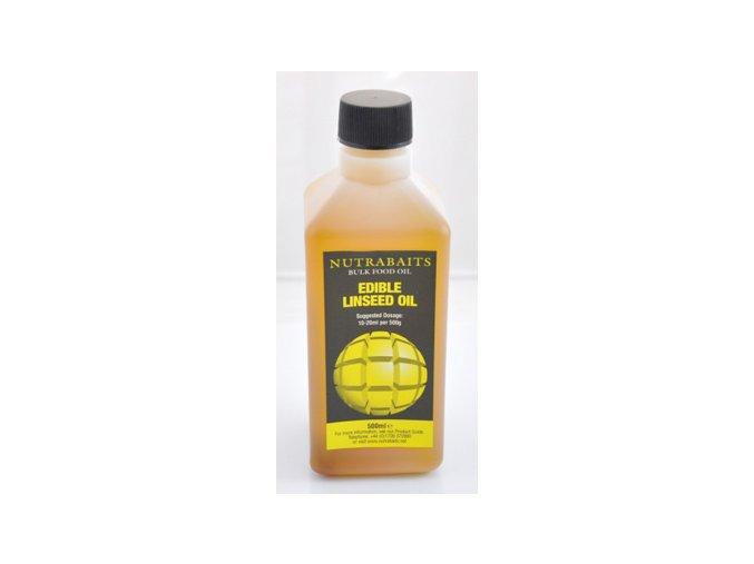 Nutrabaits lněný olej EDIBLE LINSEED OIL 500ml