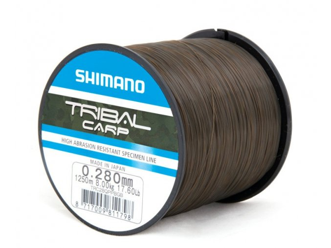 Shimano vlasec Tribal Carp 1250m/0,28mm