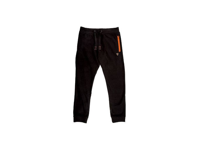 Fox tepláky Black and Orange Joggers 3XL