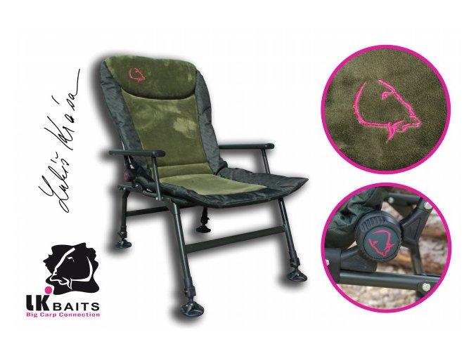 LK Baits Camo Arm Chair (4)