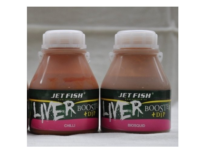 Jet Fish Liver booster + dip 250 ml